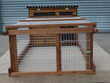 Bantam Poultry House optional end release
