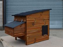 Weeford poultry coop optional external nestbox