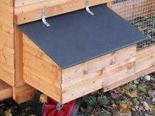Lynford Poultry House optional external nestbox