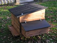Swinford poultry house optional external nestbox
