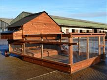Grosvenor major Raised Poultry House with integral run